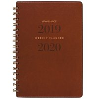 AAG AY WklyMnthly 1920 Brown Planner