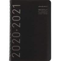 ATAGLANCE Contempo Academic WeeklyMonthly Planner, 12 Months, July Start, 5 x 8, Black