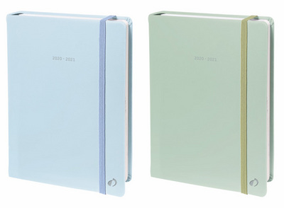 Quo Vadis 2021 Note 21   WeeklyMonthly Planner   18 Month Hardcover Pastel