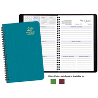 Academic Shimmer Weekly Appt.  Planner 8.5x5.5