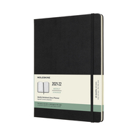 Moleskine 2022 Extra Large Hard Cover 18M Weekly Planner