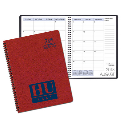 Academic Monthly Appointment Planner