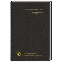 DayMinder Academic Weekly Planner 13 Months August Start 4 78 x 8 Assorted Colors