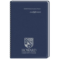 DayMinder Imprinted Academic Weekly Planner, 13 Months, August Start, 4 78 x 8, Assorted Colors