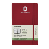 Red Moleskine 18 Month Planner