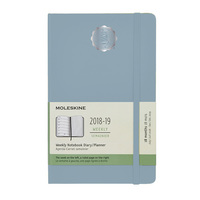 Light Blue Moleskine 18 Month Planner