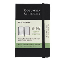 Black Moleskine Pocket 18 Month Planner