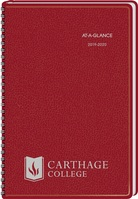 AAG 1920 Imp Planner Red 8x5