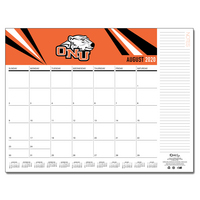 Desktop Custom Calendar 17x22   with school Mascot