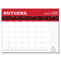 Desktop Custom Calendar 17x22   with school  Wordmark