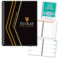Traditional Mascot Hard Cover Planner FY 2122