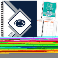 Traditional Wordmark Hard Cover Imprinted Planner 2122 AY 7x9