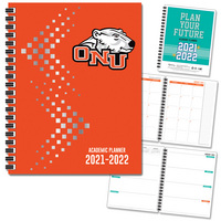 Spirit Soft Touch Foil  Mascot Imprinted Planner 2122 AY 7x9