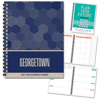 Spirit Soft Touch Spot Varnish   School Name  Imprinted Planner 2122 AY 7x9
