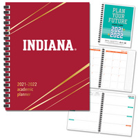 Traditional Soft Touch Foil  School Name Imprinted Planner 2122 AY 7x9