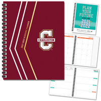 Traditional Glitter   School Name Imprinted Planner 2122 AY 7x9