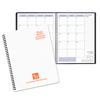 Payne 2021 22 Imprinted Academic Monthly Planner, 8.5x11