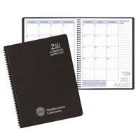 Imprinted Academic Monthly Planner, 8.5x11