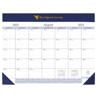 Imprinted Academic Desk Pad Calendar 17x22