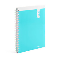 Poppin Aqua Large 18 Month Pocket Book Planner, 20182019