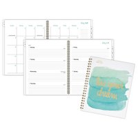 Mead Academic WeeklyMonthly Planner, Hardcover, 12 Months, July Start, Wirebound, 8 12 x 11