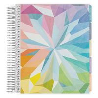 Erin Condren Colorful Kaleidoscope Academic Planner, 12 Months (August 2019  July 2020)   7 x 9