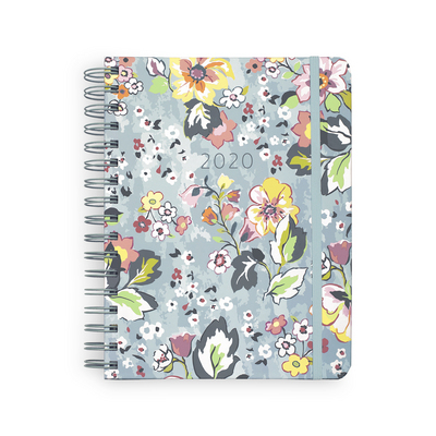 17 Month Large Planner, Floating Garden