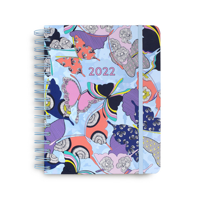 17 Month Large Planner, Butterfly By