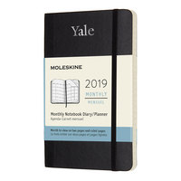 12 Month Moleskine Hard Cover Planner