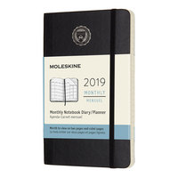 22 Month Moleskine Hard Cover Planner