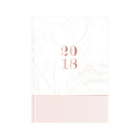 Pierre Belvedere Pink Flower 2018 Agenda (Exclusive)