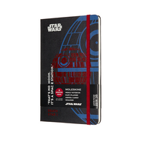 2020 Moleskine 18 Month Planner Limited Edition, Weekly Notebook, Star Wars, Death Star, Large