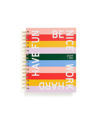 BANDO MEDIUM PLANNER, HAVE FUN BE NICE
