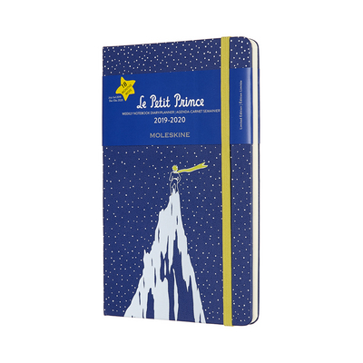 2020 Moleskine 18 Month Planner Limited Edition, Weekly Notebook, Petit Prince, Mountain, Large