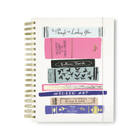 17 Month Jumbo Planner, Stack of Classics Blush (B&N Exclusive)