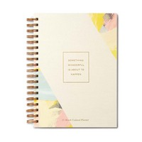 17Month Undated Planner by Compendium Something Wonderful is About to Happen.
