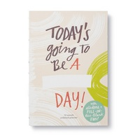 Todays Going to Be a  Day! by Compendium 12Month Undated Planner