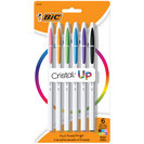 BIC CRISTAL UP BP 6pk PEN ASST