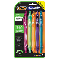 GELOCITY QK DRY 5pk FASHION PEN  (Exclusive)