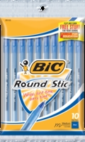 BICRound SticXtra Life Ball Pen 10 Pack