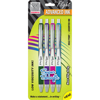 ZGRIP FLIGHT 4pk BOLD FASHION COLORS
