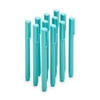 Poppin Aqua Signature Ballpoints, Set of 12