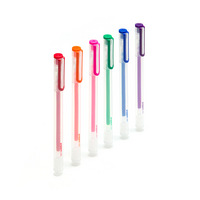 Poppin Assorted Gel Ink Pens, Set of 6