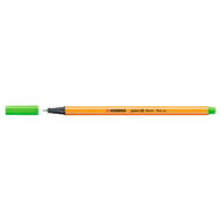 Stabilo Point 88 Pen, Neon Green