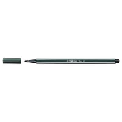 STABILO PEN 68 EARTH GREEN