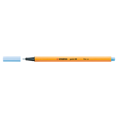 Stabilo Point 88 Pen, Ice Blue