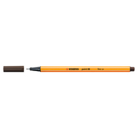 Stabilo Point 88 Pen, Umber