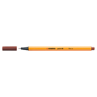 Stabilo Point 88 Pen, Sienna