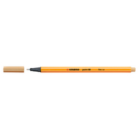 Stabilo Point 88 Pen, Light Ochre