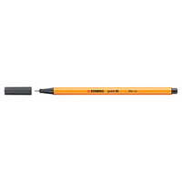 Stabilo Point 88 Pen, Deep Cold Grey